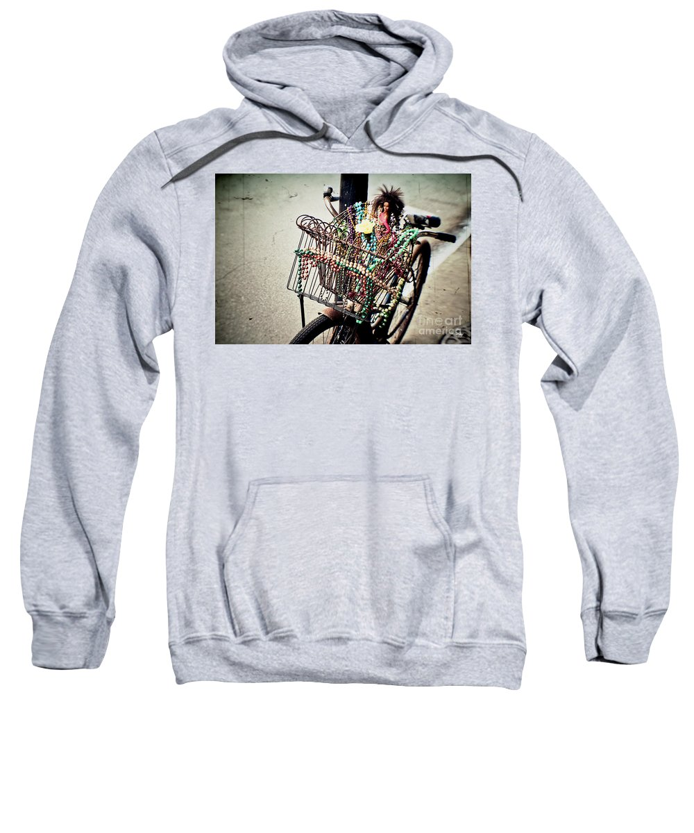 Bicycle Sweatshirt featuring the photograph Funky Ride 2 by Scott Pellegrin