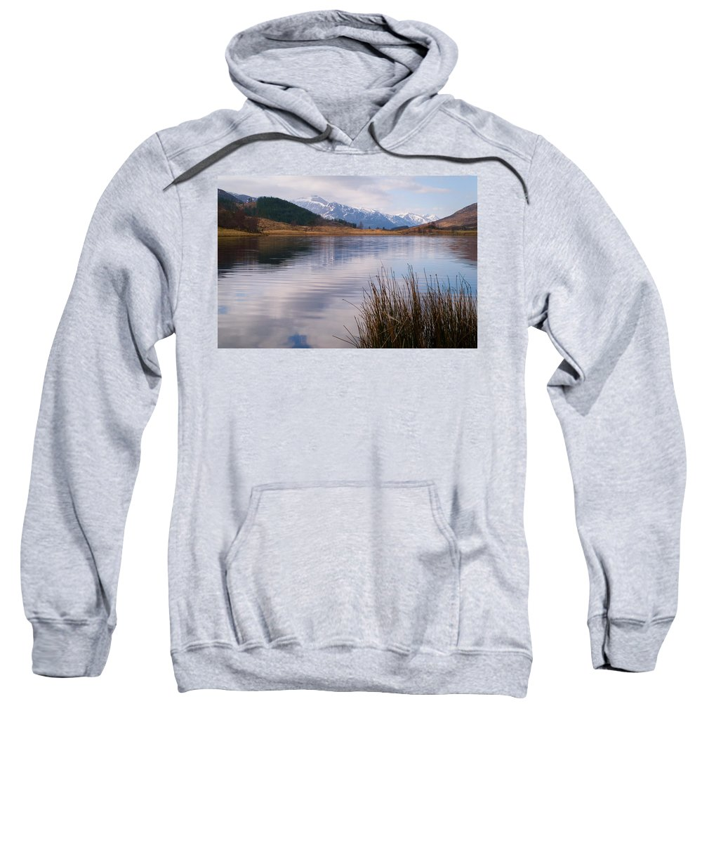 Scotland Sweatshirt featuring the photograph Glen Cannich by Howard Kennedy