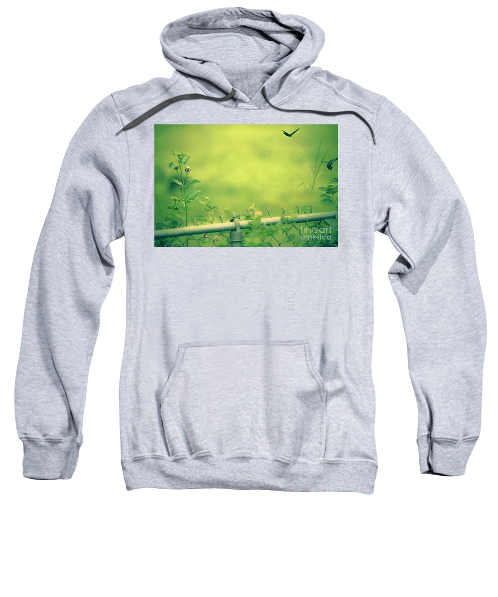 God's Love Sweatshirt featuring the mixed media God's Love Series One by Kim Henderson