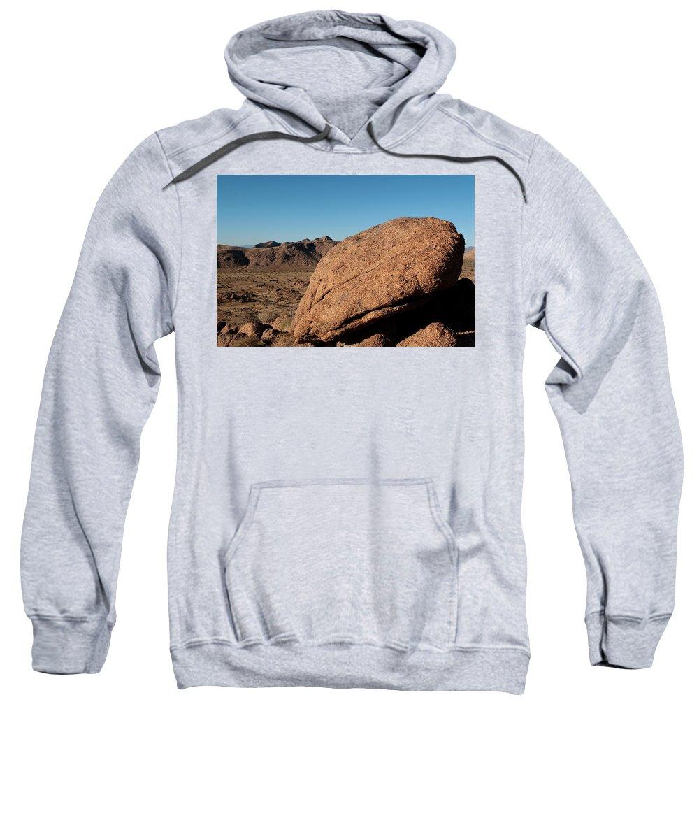 Gold Butte Region Sweatshirt featuring the photograph Gold Butte Sandstone by Lorraine Devon Wilke