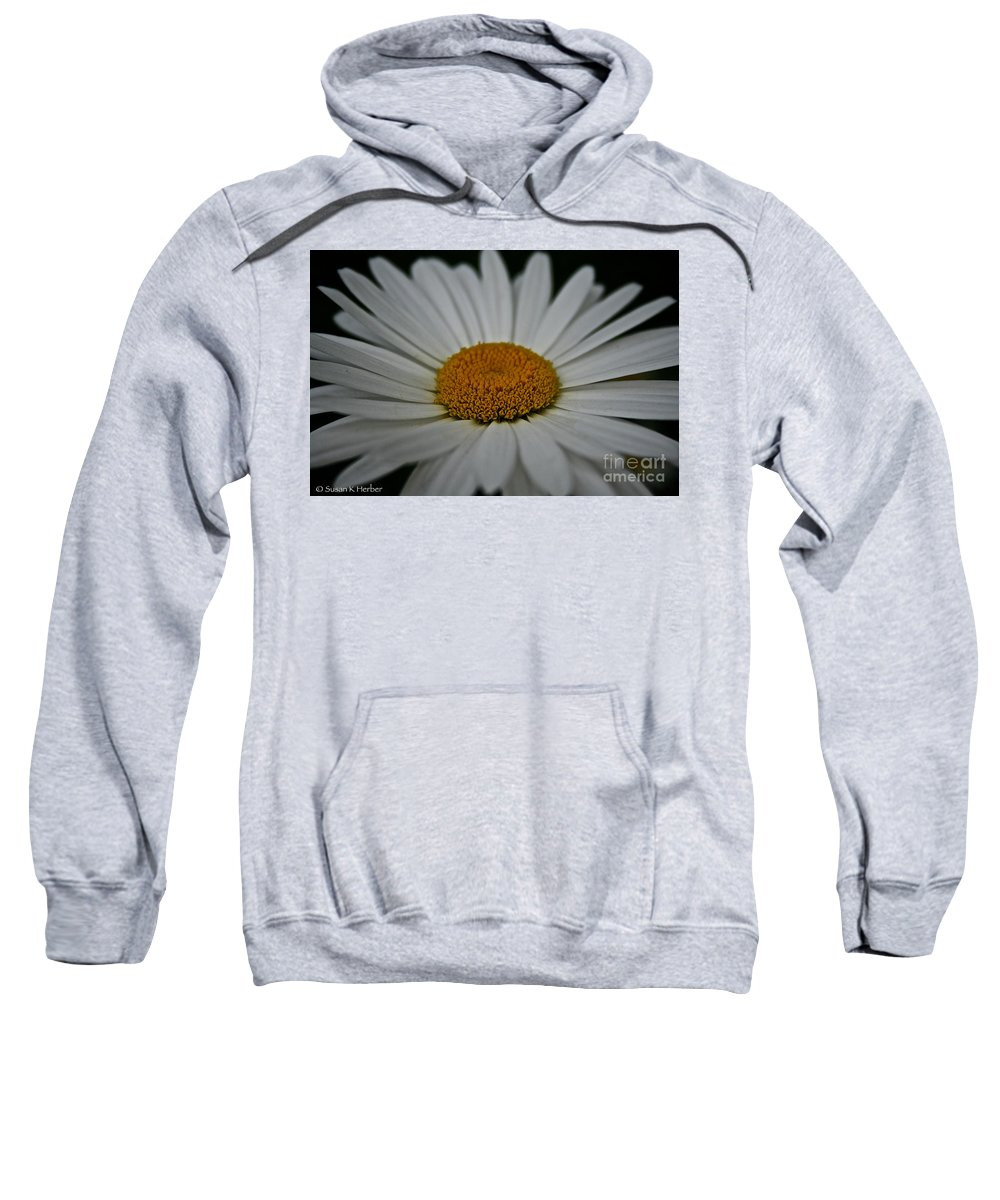 Minnesota Sweatshirt featuring the photograph Gold Crown by Susan Herber