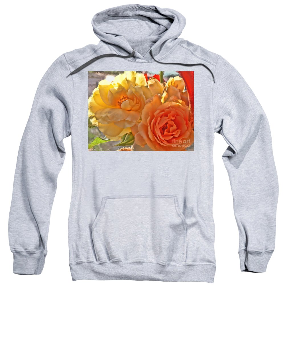Nature Sweatshirt featuring the photograph Golden Light by Debbie Portwood