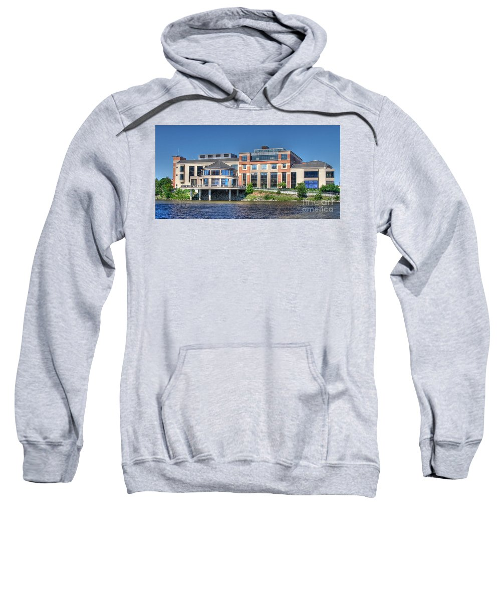 Landmark Sweatshirt featuring the photograph Grand Rapids Museum by Robert Pearson