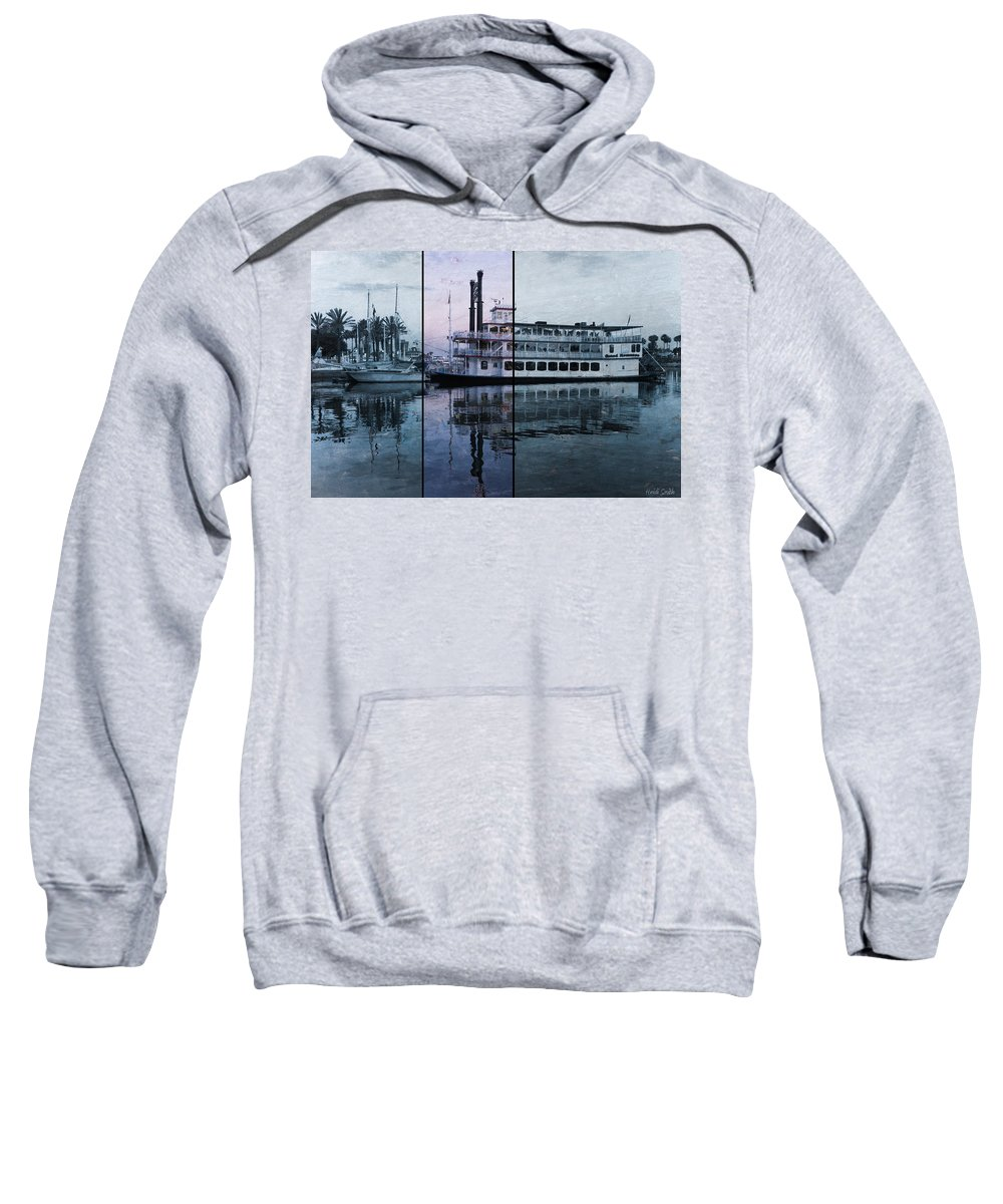 Paddle Sweatshirt featuring the photograph Grand Romance II by Heidi Smith