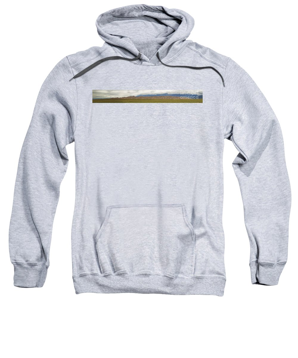 Great Sand Dunes Sweatshirt featuring the photograph Great Sand Dunes National Park by Tim Mulina