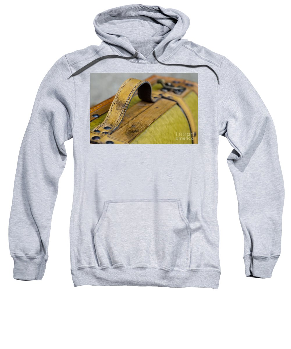 Handle Sweatshirt featuring the photograph Handle On A Suitcase by Mats Silvan