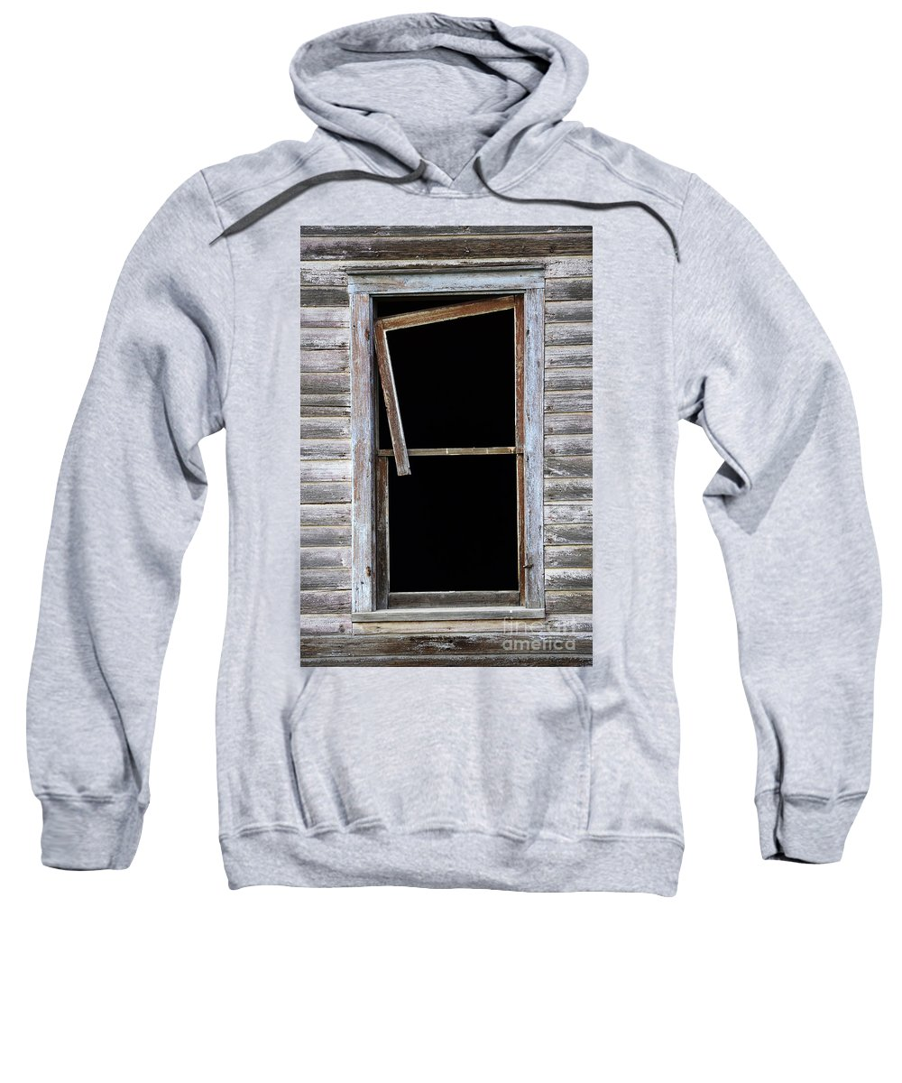 Window Sweatshirt featuring the photograph Hanging Loose by Bob Christopher