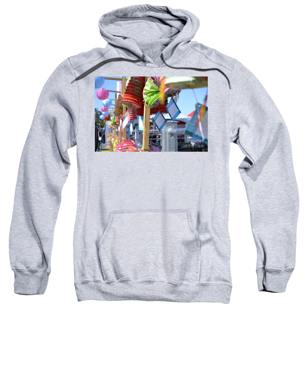Dragon Boat Races Sweatshirt featuring the photograph Hanging Out by Traci Cottingham