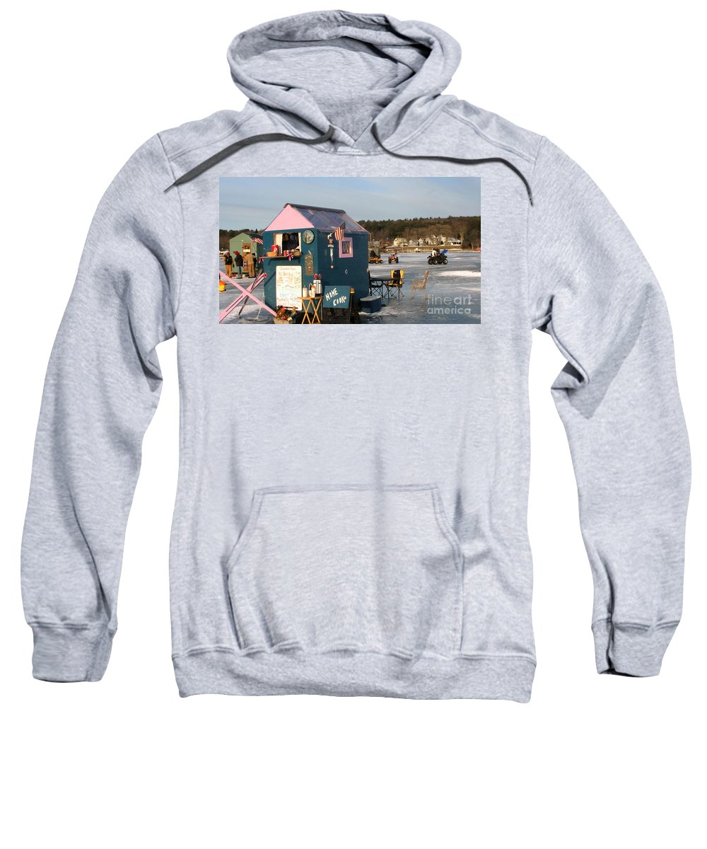Lake Winnipesaukee Sweatshirt featuring the photograph Home Cookin' by Michael Mooney