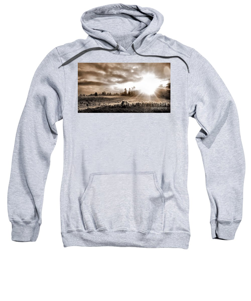 Landscape Sweatshirt featuring the photograph Hope II by Rory Sagner