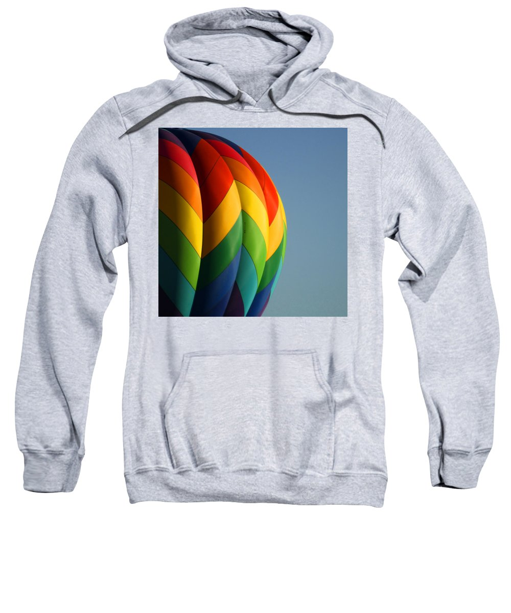 Balloons Sweatshirt featuring the photograph Hot Air Balloon 3 by Ernie Echols