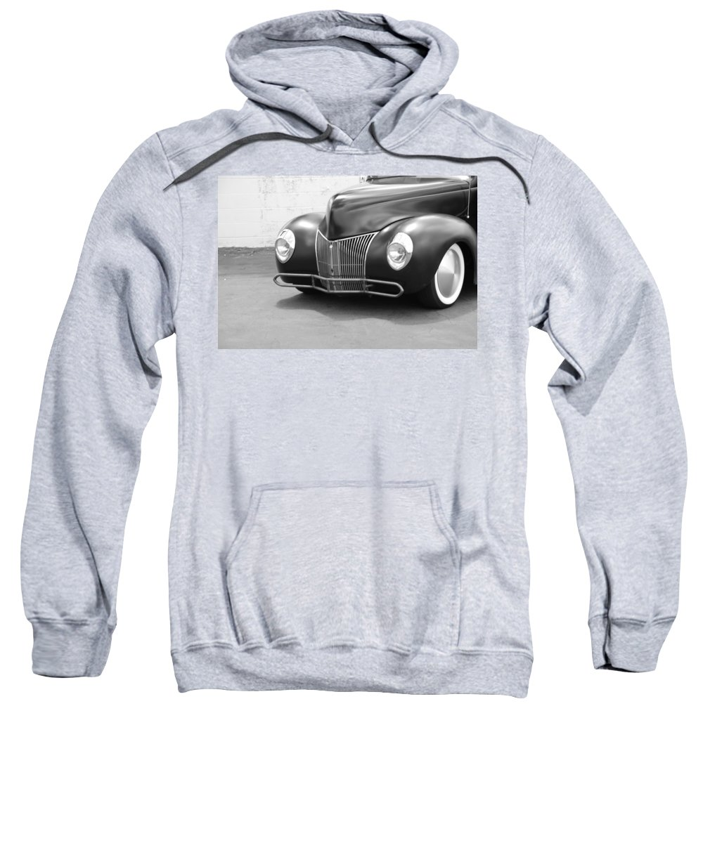 Hot Rod Sweatshirt featuring the photograph Hot Rod Front End by Rob Hans