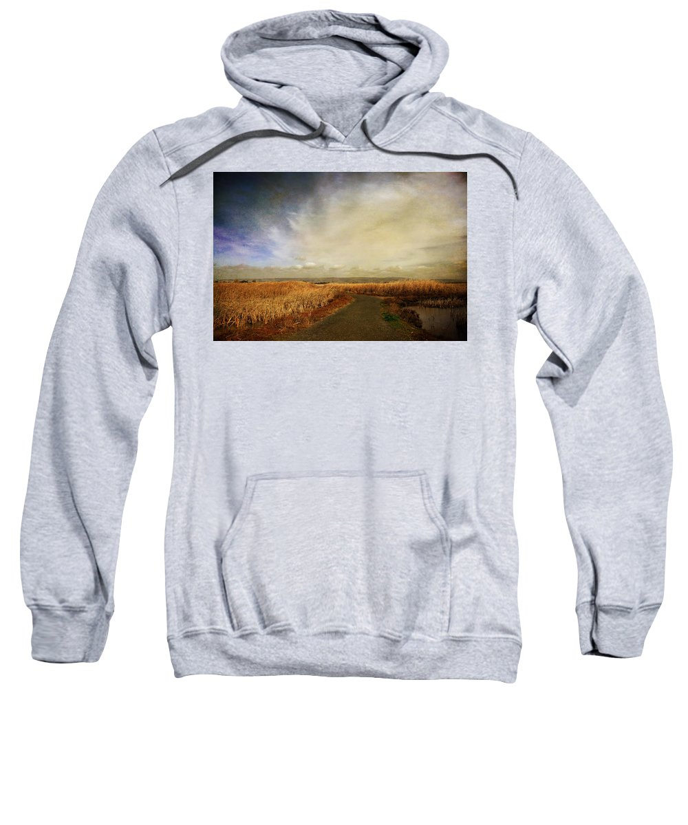Landscape Sweatshirt featuring the photograph If I Could See Into The Future by Laurie Search