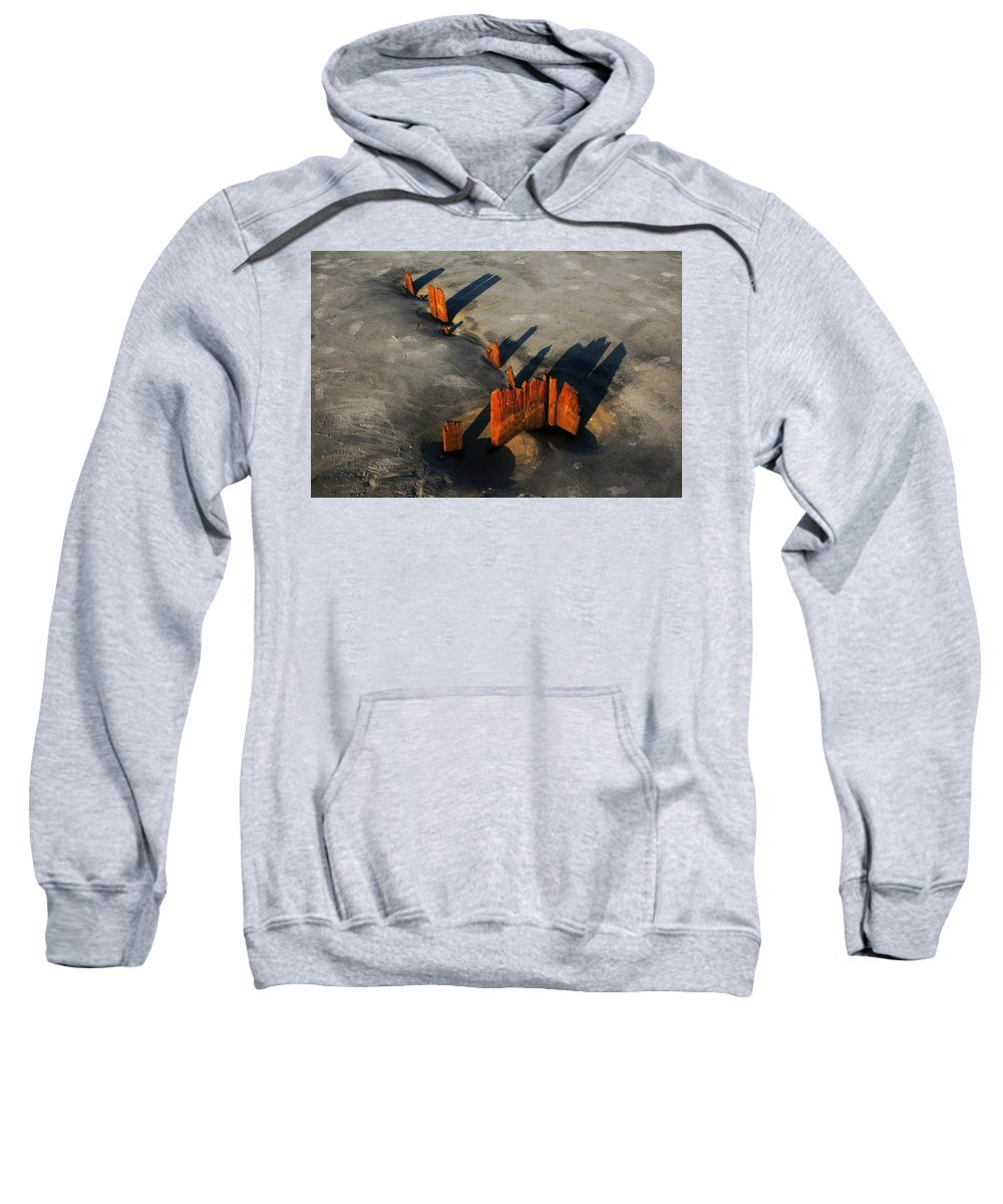 Beach Sweatshirt featuring the photograph Im-perfect by Phil Cappiali Jr