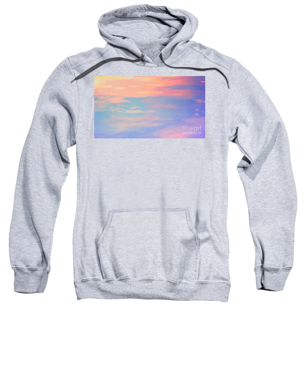 Water Sweatshirt featuring the photograph An Imagining Dream Of Heaven by Sybil Staples