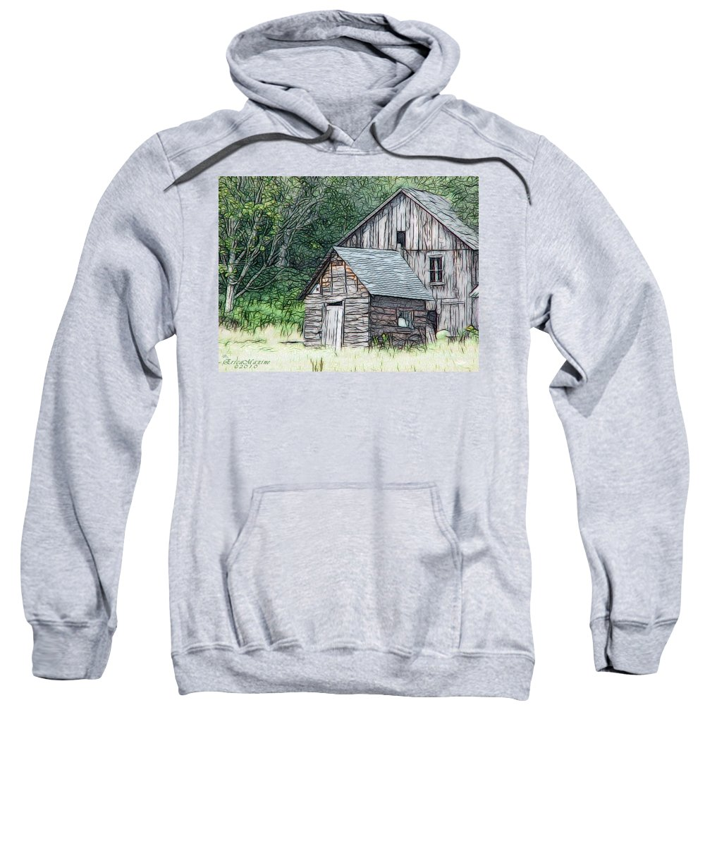 Fractals Sweatshirt featuring the photograph In Need Of Tlc by Ericamaxine Price
