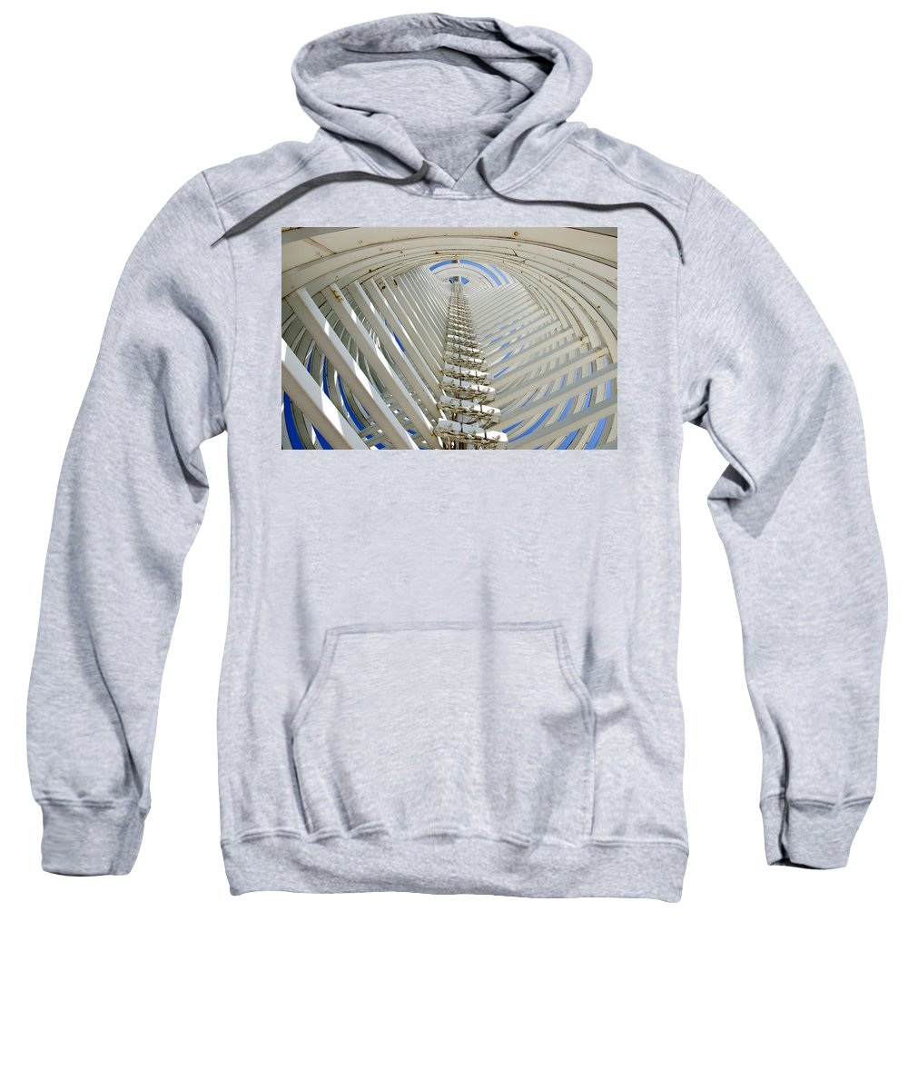 Pops Sweatshirt featuring the photograph Inside The Bottle by Ricky Barnard
