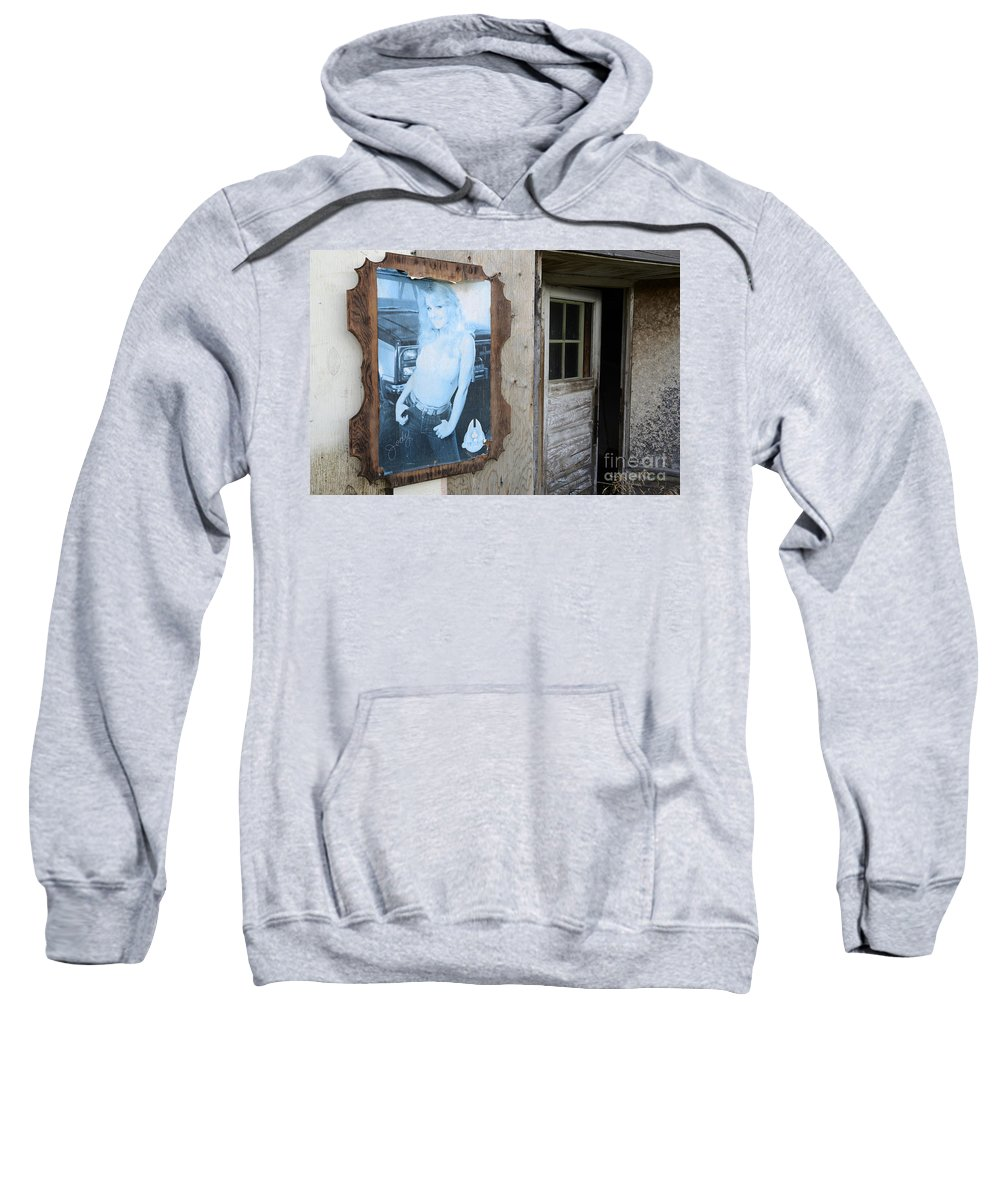 Poster Sweatshirt featuring the photograph Is Jody Home by Bob Christopher