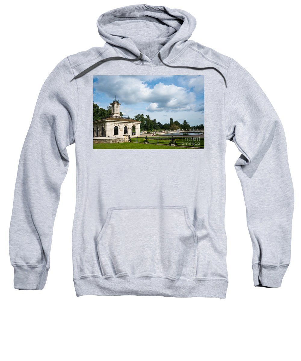 London Sweatshirt featuring the photograph Italian Gardens London by Andrew Michael