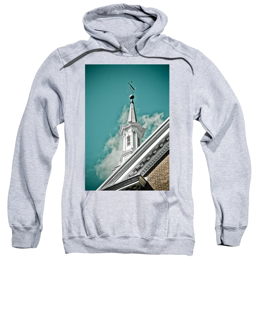Sky Sweatshirt featuring the photograph It's A Beautiful Day by Trish Tritz