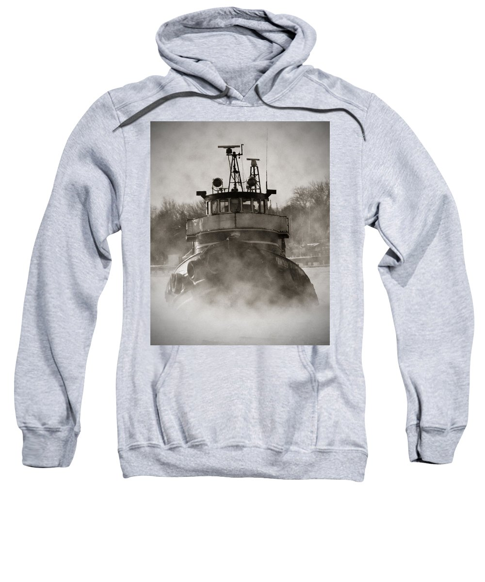 Jimmy Sweatshirt featuring the photograph Jimmy L Bow by Tim Nyberg