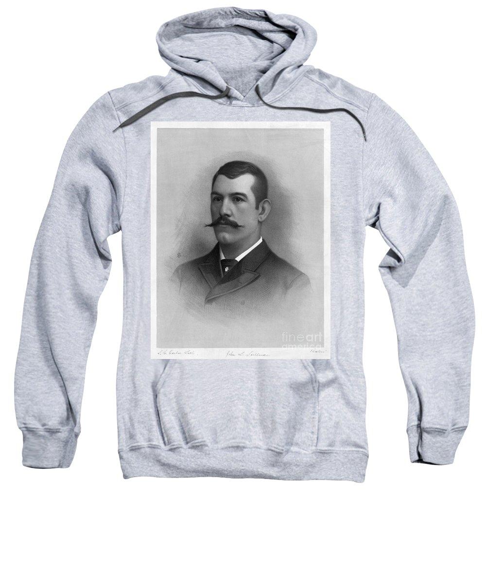 1890s Sweatshirt featuring the photograph John L. Sullivan by Granger