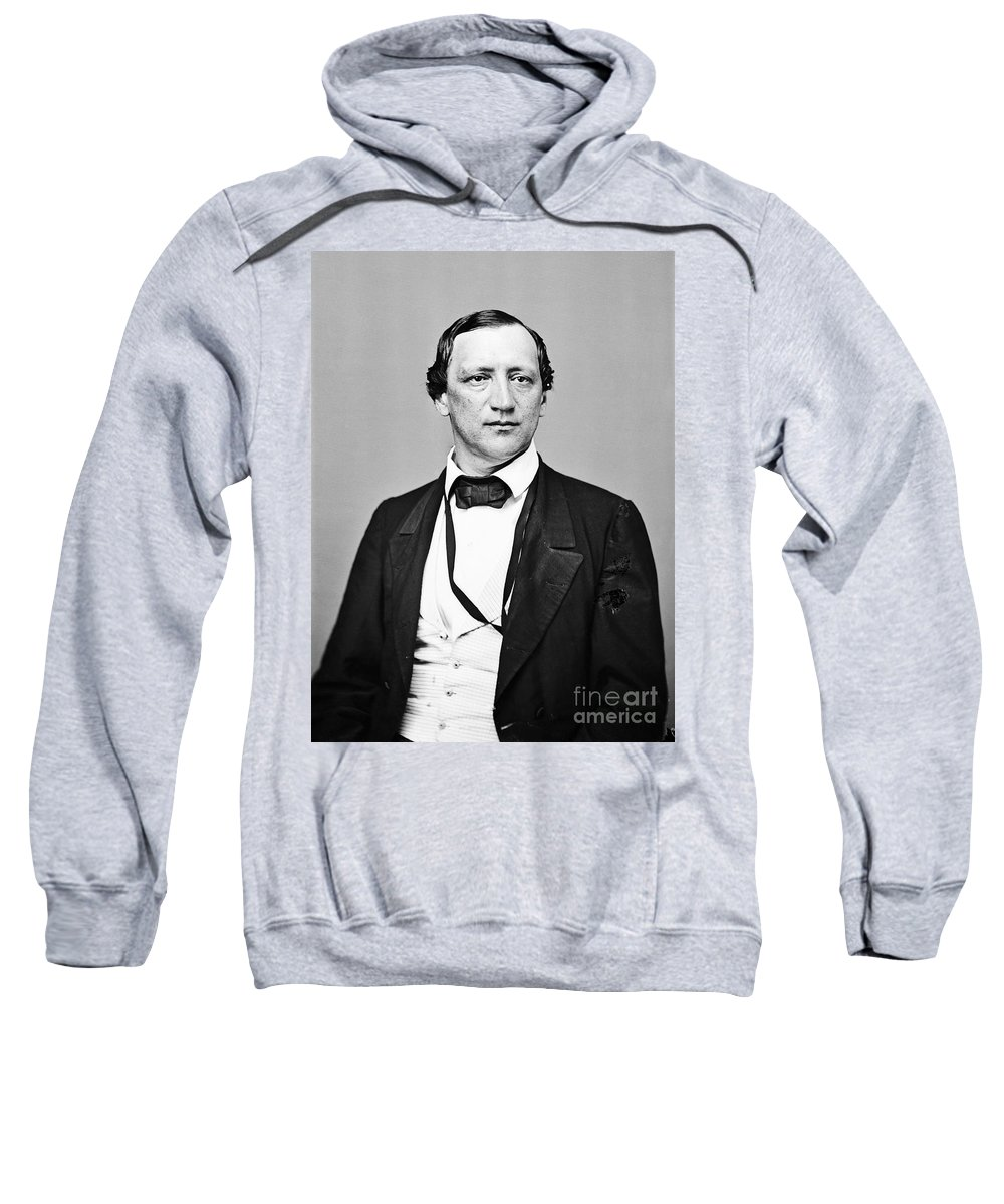 1860 Sweatshirt featuring the photograph John Snyder Carlile by Granger