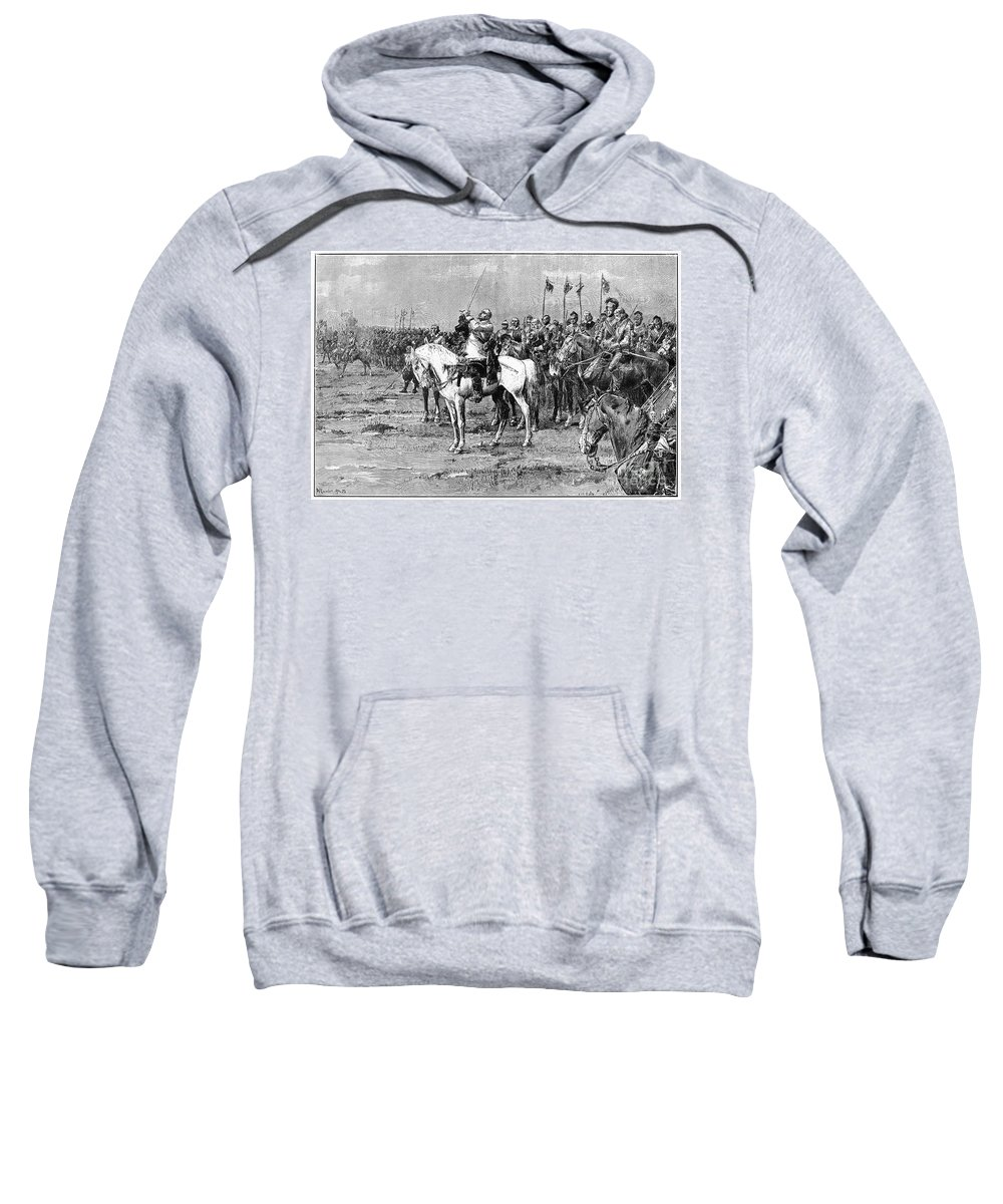 1632 Sweatshirt featuring the photograph King Gustavus II Of Sweden by Granger