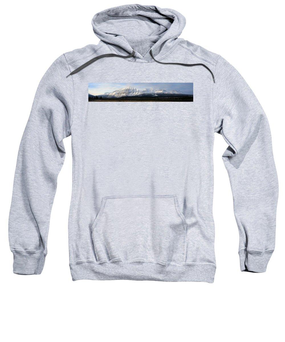 Light Sweatshirt featuring the photograph Kluane National Park, Yukon by Robert Postma