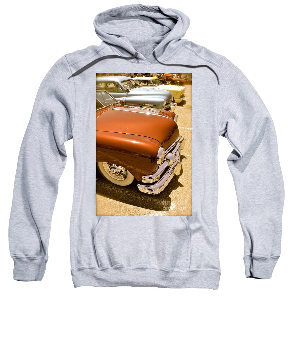Ford Sweatshirt featuring the photograph Kustom Rides by Customikes Fun Photography and Film Aka K Mikael Wallin
