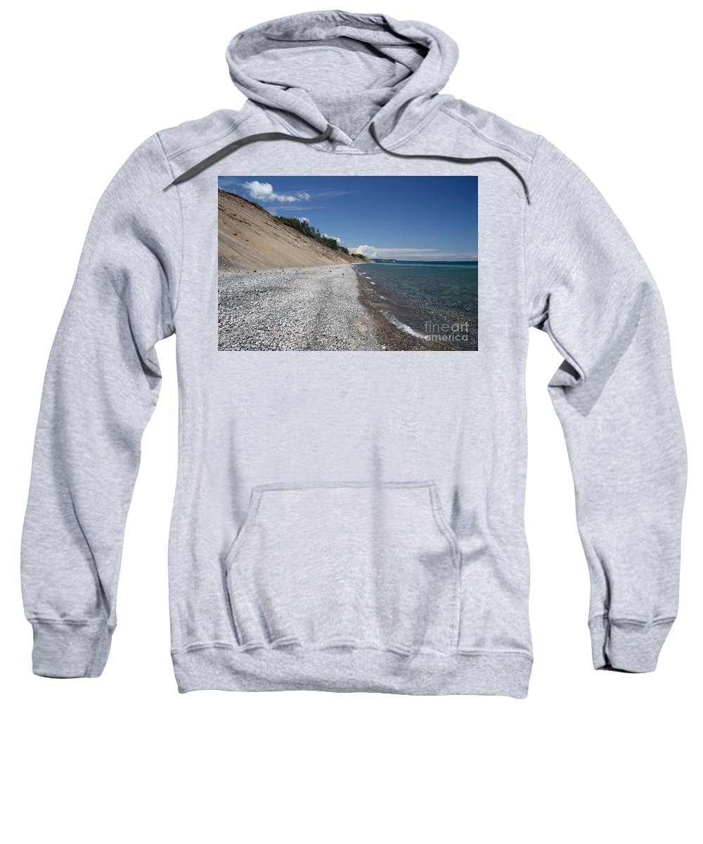 National Park Sweatshirt featuring the photograph Lake Superior by Ted Kinsman