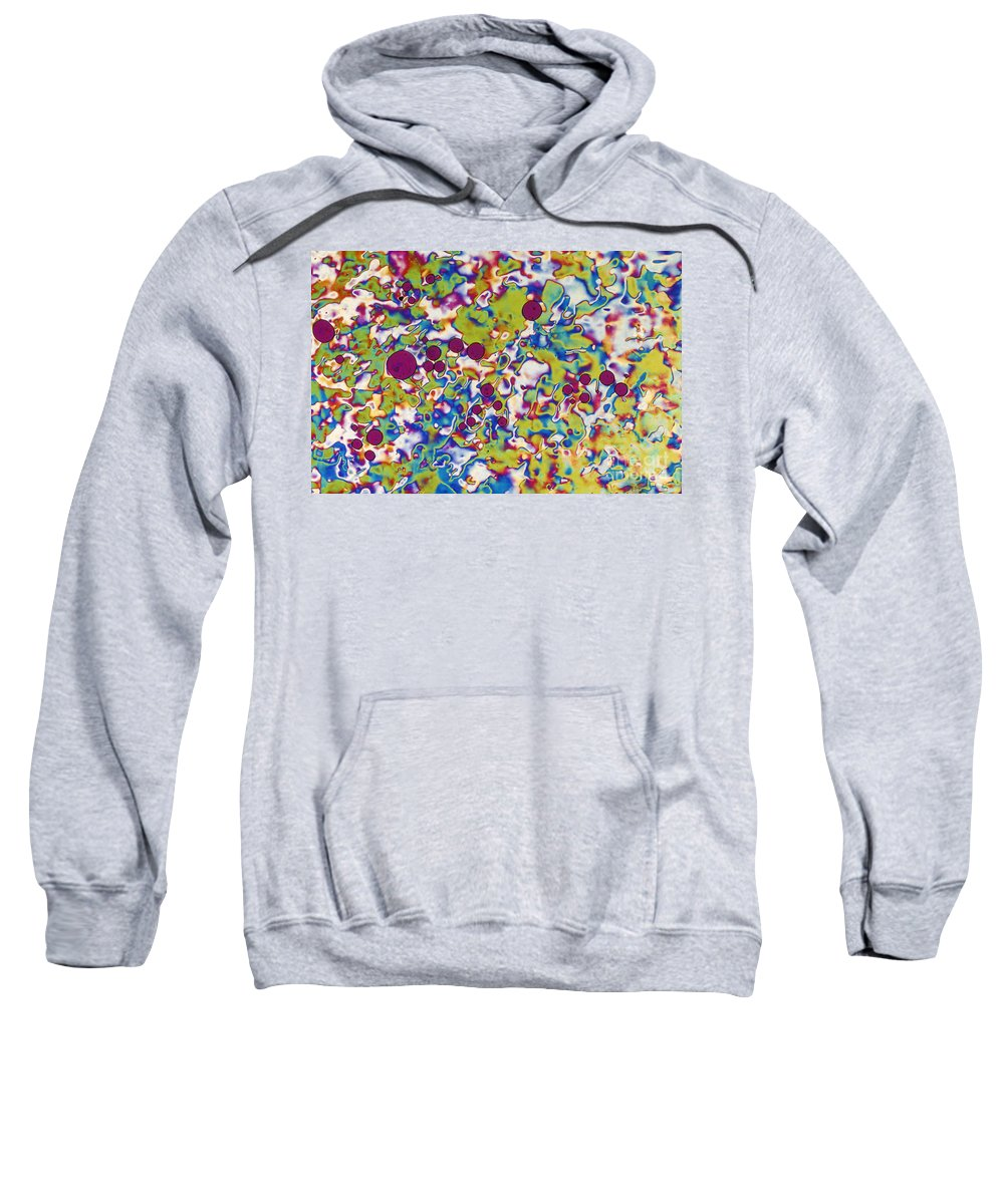 Liquid Crystal Display Sweatshirt featuring the photograph Lcd by Michael W. Davidson