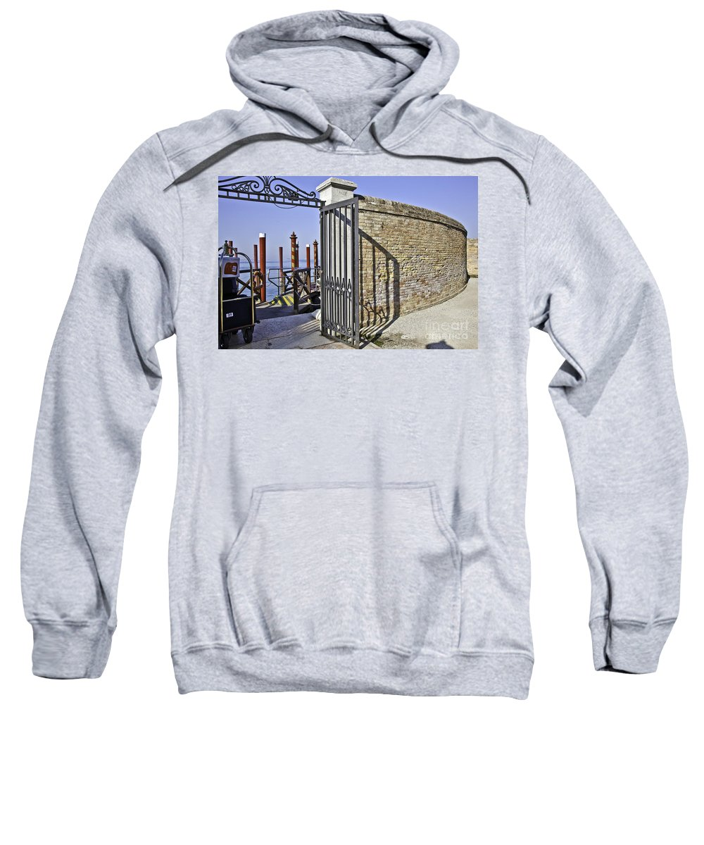 Venice Sweatshirt featuring the photograph Leaving by Madeline Ellis