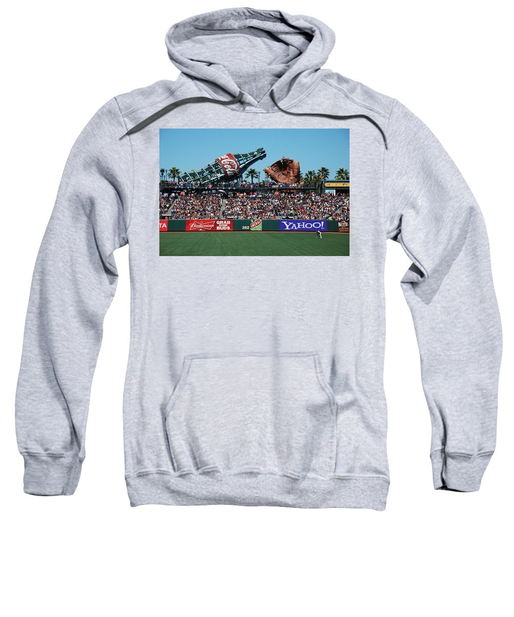 San Francisco Sweatshirt featuring the photograph Left Center by Eric Tressler