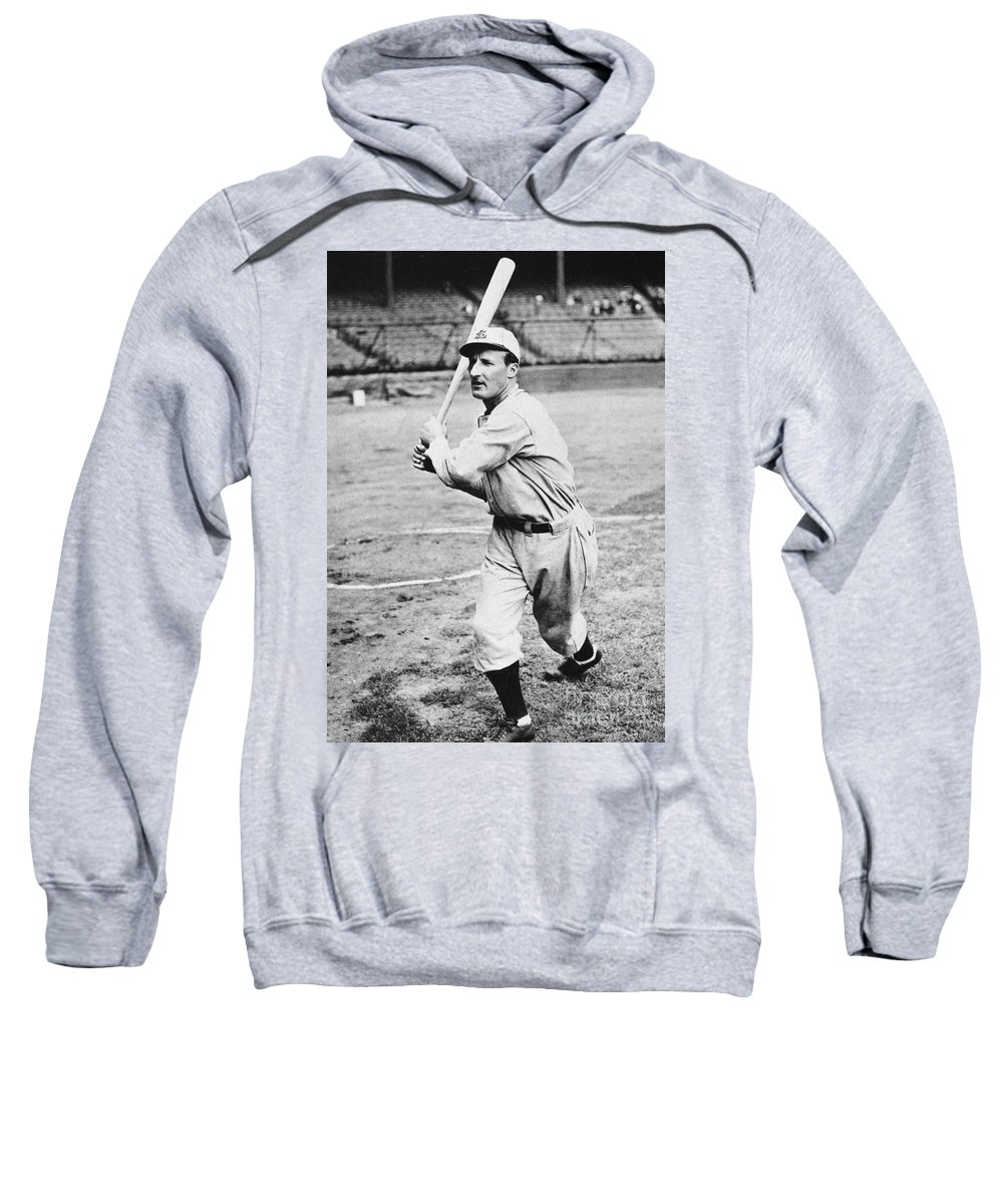 1930 Sweatshirt featuring the photograph Leon Goslin (1900-1971) by Granger