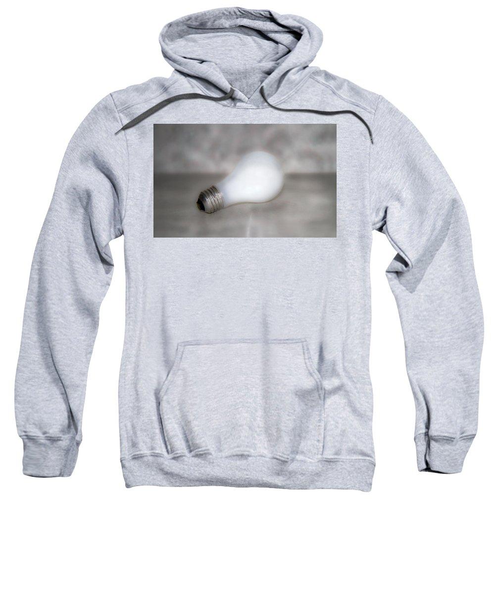 Light Sweatshirt featuring the photograph Light Bulb by Betsy Knapp
