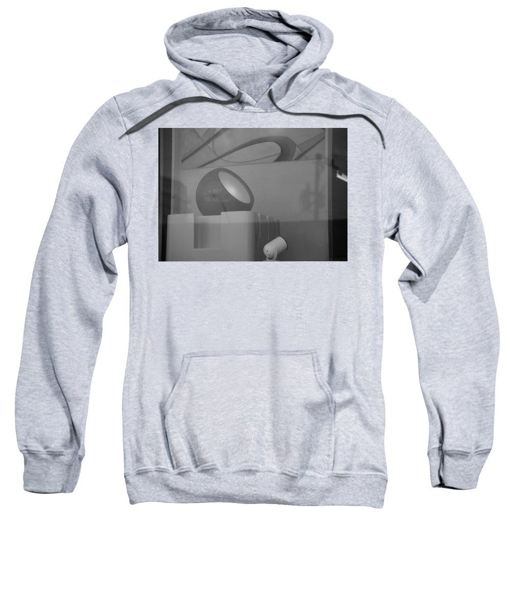 Lights Sweatshirt featuring the photograph Lights And Reflections by Rob Hans