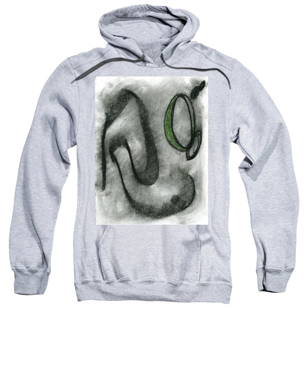 Lost Music Sweatshirt featuring the painting Lost Music by Taylor Webb