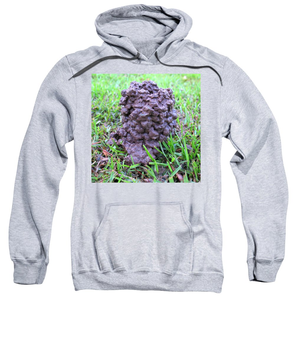 Mud Sweatshirt featuring the photograph Louisiana Mud Up Close Two K O Nine by Carl Deaville