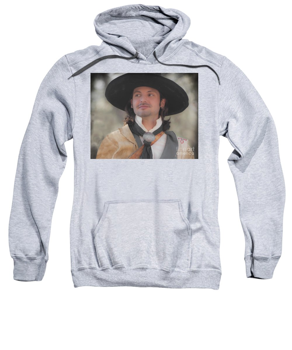 Reenactor Sweatshirt featuring the photograph Loving This by Kim Henderson