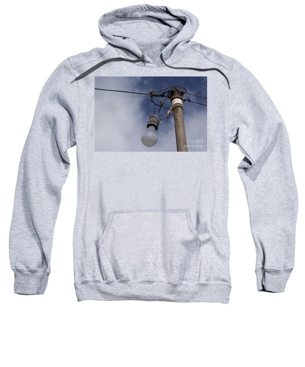 Aloha Sweatshirt featuring the photograph Lumieres by Sharon Mau