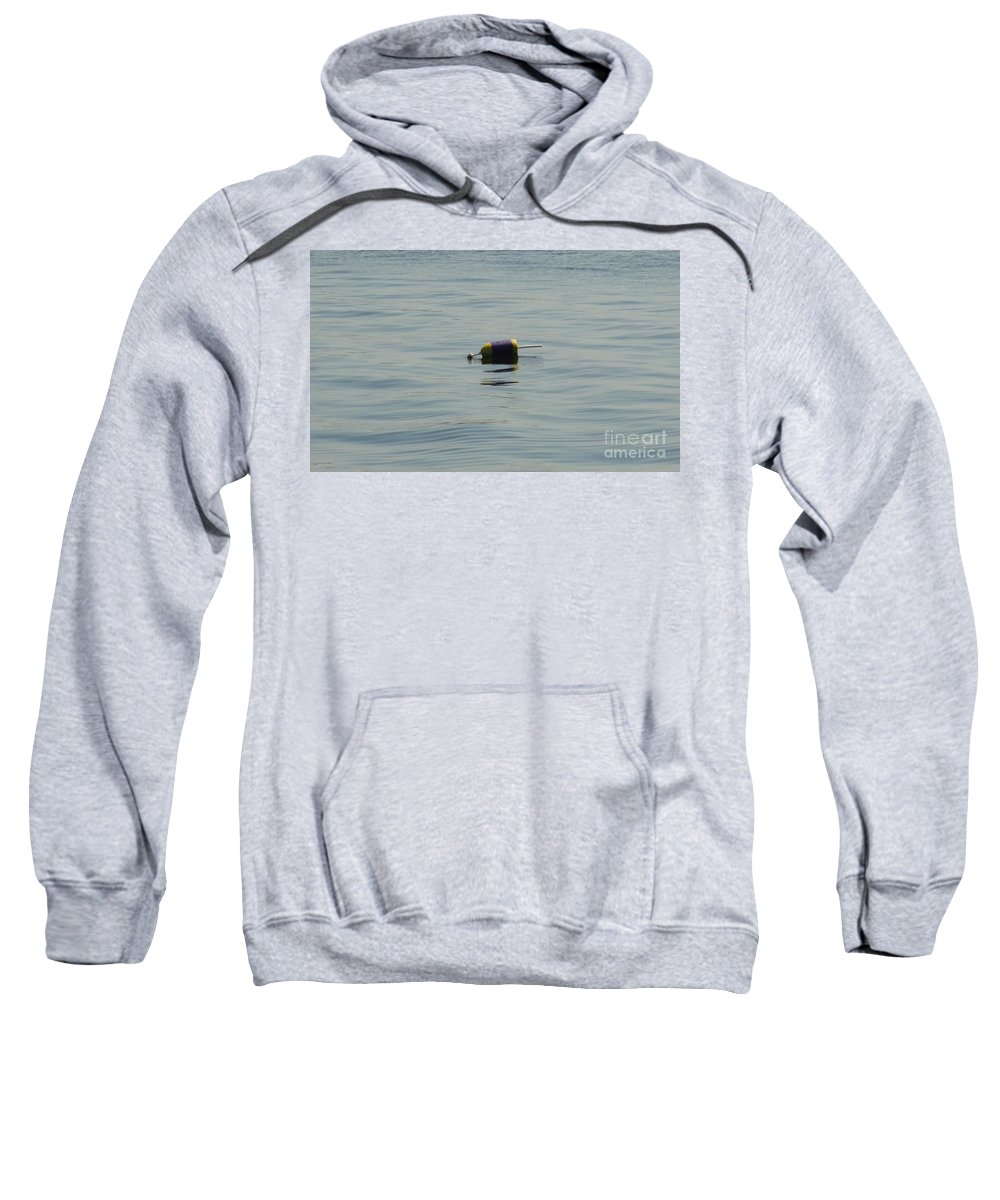 Water Sweatshirt featuring the photograph Marking The Spot by Meandering Photography
