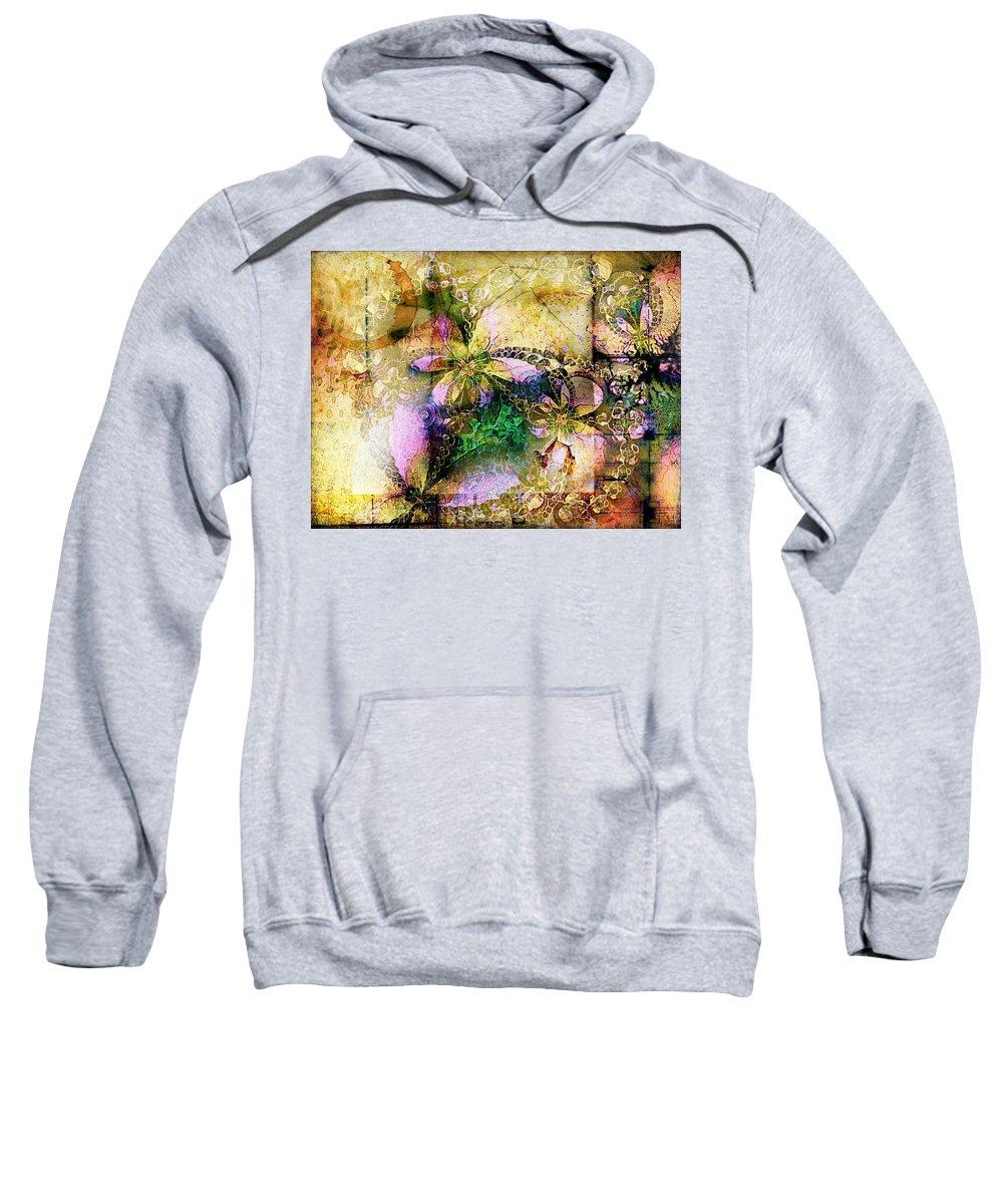 Digital Art Sweatshirt featuring the digital art Memories by Amanda Moore