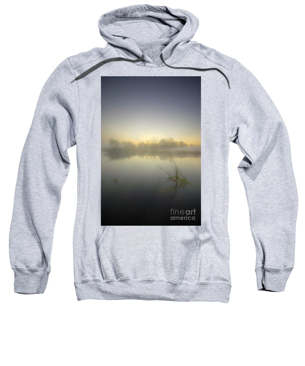 Sunrise Sweatshirt featuring the photograph Misty Dawn 4.1 by Yhun Suarez