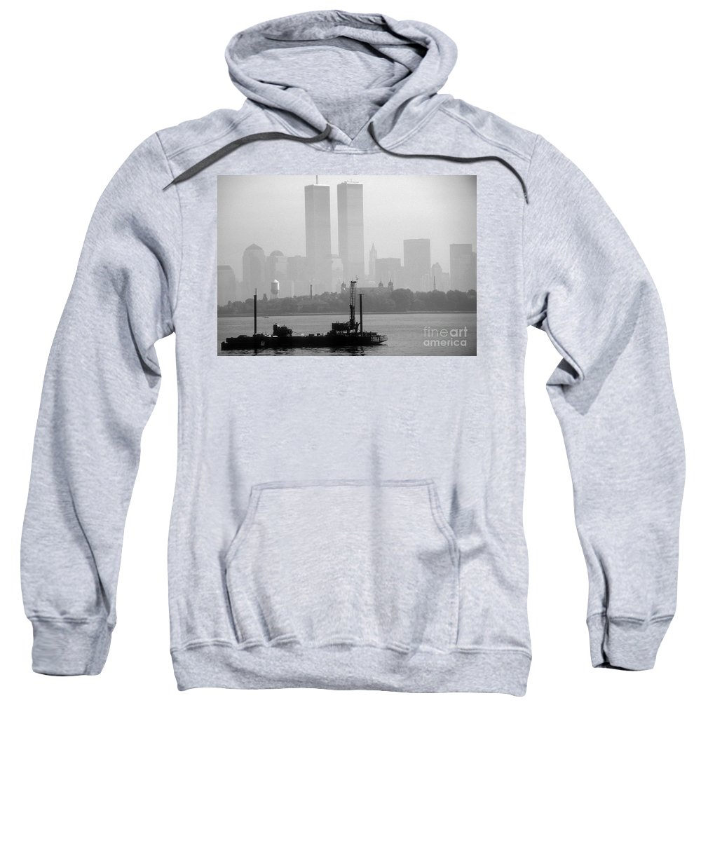 Wtc Sweatshirt featuring the photograph Misty Morning by Mark Gilman