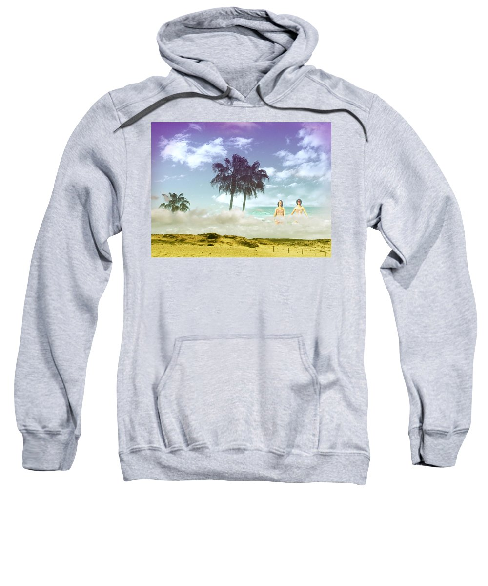 Beach Sweatshirt featuring the photograph Mom's Tropical Dreams by Kathleen Grace