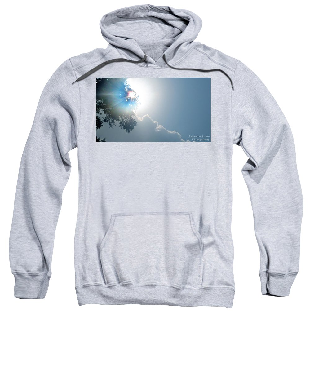 Sun Sweatshirt featuring the photograph Morning Glory by Shannon Nolting