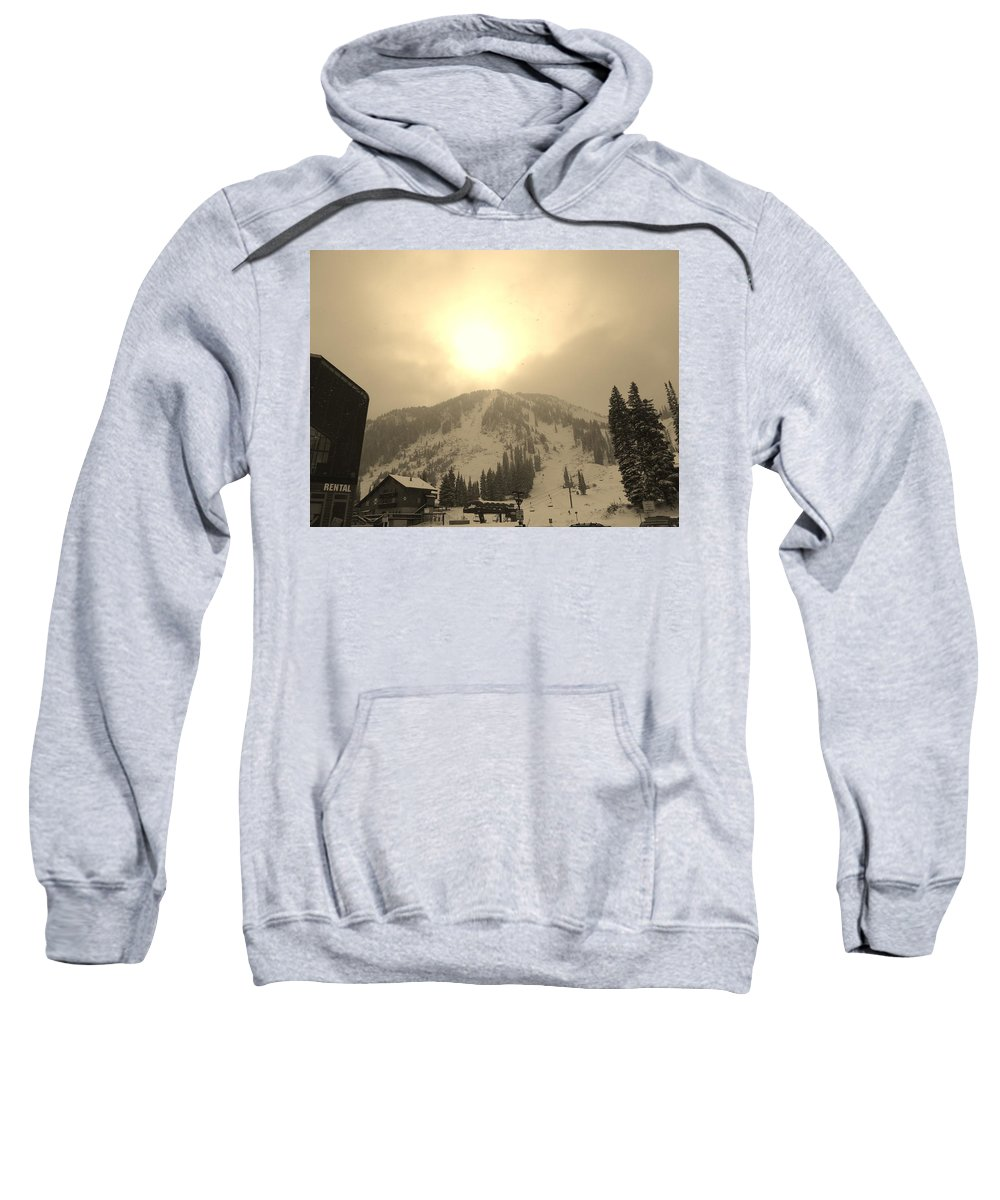 Sunrise Sweatshirt featuring the photograph Morning Light by Michael Cuozzo