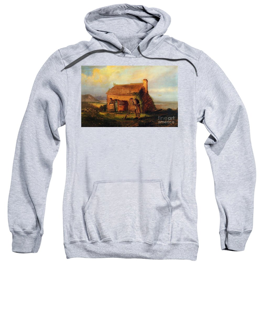 1868 Sweatshirt featuring the photograph Mosler: Lost Cause, 1868 by Granger