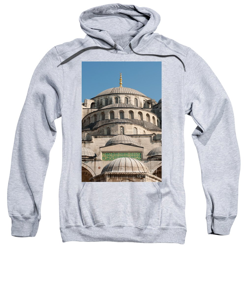 Building Sweatshirt featuring the photograph Mosque by Andrew Michael
